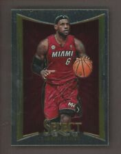 2012-13 Panini Select #66 LeBron James Miami Heat