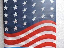 """AMERICAN FLAG Table Cover Decoration, 54""""x108"""" Table Cloth, Party"""