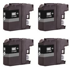 4 Compatible LC123BK ink for Brother MFC-J470DW MFC-J4710DW MFC-J650DW Printer