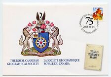 Weeda Canada S65 VF commemorative Special Event Cover 2004 RCGS issue CV $4