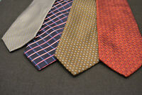 Lot of 4 TIE RACK Neckties - incredibly cheap price! Grab it! E6