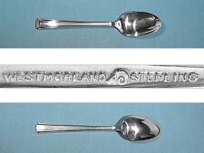 Westmorland Sterling Teaspoon(S) ~ John & Priscilla ~ No Mono