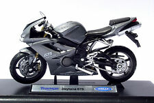 SPEED/Top, Triumph Daytona 675 Triple, MOTO, moto, bici, motore, Welly 1:18