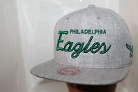Philadelphia Eagles NFL Mitchell & Ness Team Name Snapback,Hat,Cap   $ 35.00 NEW