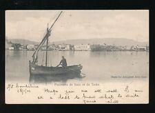 Egypt Panorama de SUEZ et du TACKA used 1902 u/b PPC