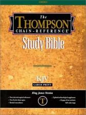 The Thompson Chain-Reference Bible (1995, Leather, Large Type)