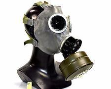 Soviet era Polish army gas mask MC1. New full set grey rubber mask Puma bag S,M