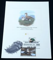 USA Scott #RW58 #2484 Migratory Bird Hunting Duck 1991 Stamp FDC First Day Cover