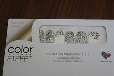 Color Street Zebra On The Spot 100% Nail Polish Strips Retired Set