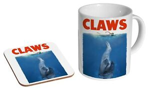 Sloth Claws Jaws - Coffee / Tea Mug And Coaster Gift Set