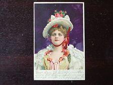 Frankierte Kunst & Kultur Ansichtskarten vor 1914 mit dem Thema Künstlerkarte