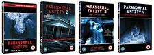 Paranormal Entity Complete Collection Part 1 2 3 4  BRAND NEW & SEALED UK R2 DVD