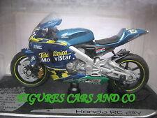 MOTO  GP 1/18  HONDA RC 211V SETE GIBERNAU #15 TELFONICA MOVISTAR 2003SOLIDO