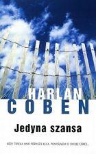Jedyna szansa, Harlan Coben,  polish book, polska ksiazka