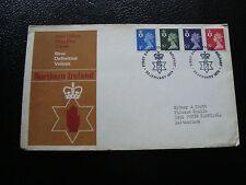 ROYAUME-UNI - enveloppe 1er jour 23/1/1974 (cy22) united kingdom