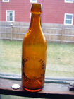 "antique blobtop beer Auburn NY ""Orange amber""colored embossed ""James.H.Holmes"""