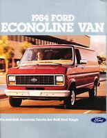 2012 Ford E-Series Econoline Van 24-page Sales Brochure Catalog
