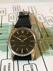 Vintage 1958 Rolex Oyster Speedking midsize men's watch, Ref 6421