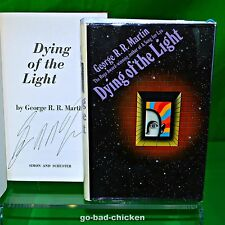 Signed Dying Of The Light by George RR Martin 1st Novel 1977 HC TRUE 1ST EDITION