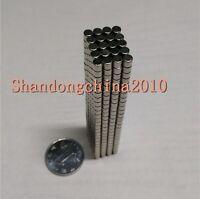 Neodymium Disc Mini 3mm X 3mm Rare Earth N35 Strong Magnets  50/100/200/500pcs