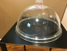 """*Cal-Mil 301-15 Turn N Serve 15"""" Gourmet Acrylic Cover Sample Demo Tray Cover*"""