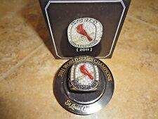 St Louis Cardinals 2011 World Series Champions Replica Ring Busch SGA 4-14-12