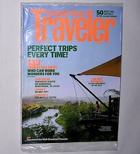 Conde Nast Traveler Magazine December 2011. The 50 Best Ski Hotels. NEW, SEALED.