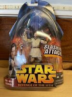 *+ NEW 2005 Star Wars: Revenge Of The Sith - Obi-Wan Kenobi #1 Slashing Attack *