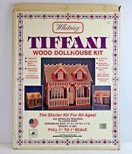 Vintage Whitney Tiffani Wood Dollhouse Kit by Radmark 1'' to 1'' Scale in Box