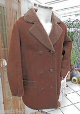 LADIES SHEEPSKIN COAT SIZE 16 RANCH TOUGH WEAR ANY WEATHER