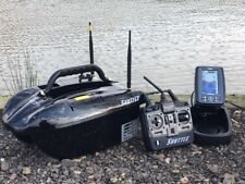 Shuttle Bait Boat + TF500 Fish Finder + Solar charger & Spare Batteries
