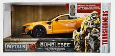 """Transformers 5: 2016 Chevy Camaro """"BUMBLEBEE 1/24 Scale. See robot on chassis!"""