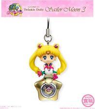 Bandai Sailor Moon Twinkle Dolly 3 Moon Starry Orgel Mascot Charm Strap Figure