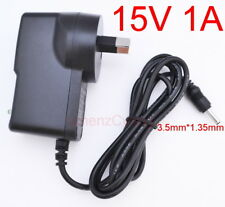 AC Adapter DC 15V 1A Switching Power Supply 1000mA 15W AU plug DC 3.5mm x 1.35mm