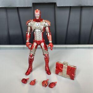 "Iron Man Mark V 5 Suitcase Armor Marvel Legends Movie Series 6"" Walmart RARE MCU"