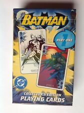 Batman collectors edition playing cards part one