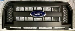FORD F150 BLACK GRILLE OEM XL 15 16 17 2015-2017