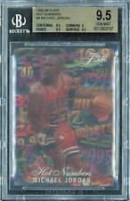 1995 Flair Hot Numbers Michael Jordan #4 BGS 9.5 GEM MINT