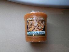 YANKEE Candle USA RARO ZUCCA Ginger corteccia campionatore