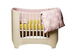 Leander Bumper for Baby Bed Made of Cotton in Soft Pink