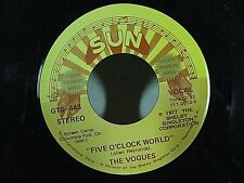 THE VOGUES  SUN Label 45 rpm Five O'Clock World / My Special Angel EX CLEAN