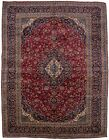 Hand Knotted Traditional Vintage Large 10X13 Oriental Area Rug Home Decor Carpet