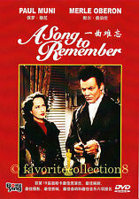 A Song to Remember (1945) - Paul Muni, Merle Oberon - DVD NEW