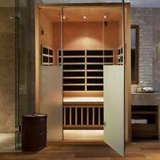 More details for platinum spas 2 person calor infrared indoor sauna carbon heaters 9022