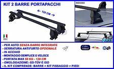 Barre portatutto per Lancia Ypsilon dal 2011 in poi da tetto omologate bagagli