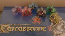 Carcassonne Phantom expansion NEW rare NIW OOP Box 48 x 6 translucent meeples