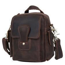 Vintage Men's Leather Bum Belt Waist Fanny Bag Pack Shoulder Messenger Tote Bag