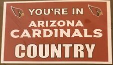 Arizona Cardinals Country Grommet Pole Flag - 3' X 5' - Fast Free Shipping