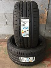 2 NEW 2553519 255 35 19 BRIDGESTONE  S001 96Y EXTRA LOAD TWO TYRES