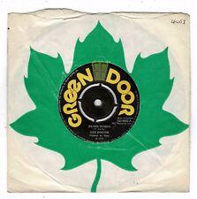 """KEN BOOTHE-silver words     green door 7""""    (hear)    reggae"""